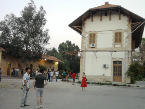 Mar Mikhael Train Station
