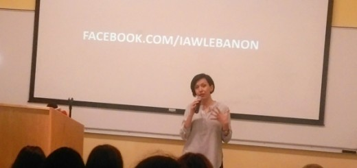 Rafeef Ziadah at Israeli Apartheid Week Lebanon-2016