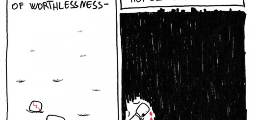 There is a sense of worthlessness that drives hopelessness