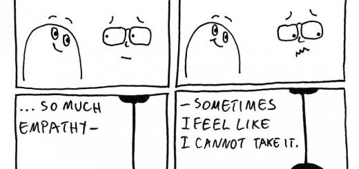 When empathy meets depression